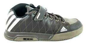 adidas Five Ten Berm Mens Size 10.5 Brown Leather Mountain Bike Flat Pedal Shoes