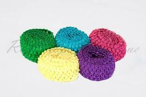 "Tutu Supplies Stretchy 2.75"" wide Crochet Elastic Waistband x Metre EN71 tested"