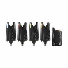 JRC Radar CX Set 4+1 Multi Colour NEW Carp Fishing Alarm Set 1404485