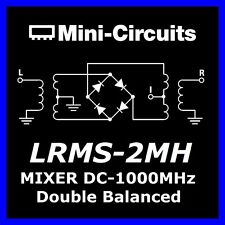 LRMS - 2mh minicircuits 5x double frequency MIXER 13db if dc-1000mhz