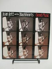 "SIGNED by JOAN JETT ""Good Music"" Joan Jett & The Blackhearts PROMO LP 1986 Vinyl"