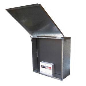 Meter Box + Panel NSW Standard 600mm x 600mm x 260mm + Bonus 12 Pole Enclosure