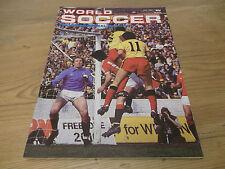 Fútbol Revista World Soccer Julio 1983 Mickey WALSH Olympiakos Piraeus Israel