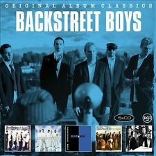 BACKSTREET BOYS 5CD BRAND NEW ST/Millennium/Black & Blue/Never Gone/Unbreakable