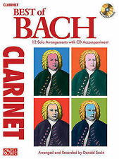 J.S. Bach: Best of - Clarinet by Cherry Lane Music Co ,U.S. (Paperback, 2010)