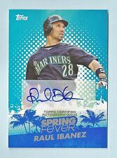RAUL IBANEZ 2013 TOPPS SPRING FEVER AUTOGRAPH AUTO /113