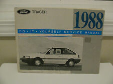 1988 FORD TRACER * DO IT YOURSELF * SERVICE MANUAL