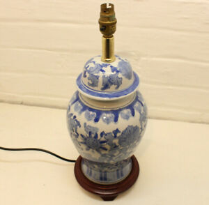 Chinese/ Oriental Ceramic Table Lamp