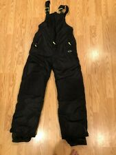 Ski Snow Snowboard Pants Champion Girls Black Large 12-14