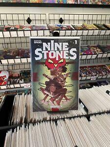 Nine Stones 1 V1 Samuel Spano 1:10 Variant Cover Behemoth Comics 2021