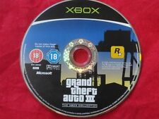GTA Grand Theft Auto III 3 XBOX Microsoft DISC ONLY Fast Shipping