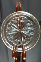 "MINT! Vintage Baccarat Rosace Crystal Coaster SIGNED Decanter Wine Glass 5.5"""