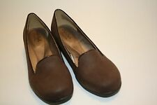 """HUSH PUPPIES SOFT STYLE DELIGHT WOMEN'S BROWN COMFORT SHOES 8.5 M CUSHIONED 1.5"""""""