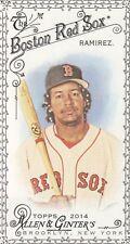 2014 Topps Allen & Ginter Baseball Mini Black #293 Manny Ramirez Boston Red Sox