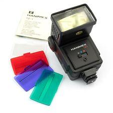 Universal… HANIMEX TZ1 BOUNCE / ZOOM FLASH… Nikon FM, Pentax K1000, Canon AE-1…