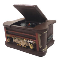 1/6 Scale Miniature Dollhouse Gramophone Record Player Room Doll Furniture