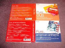 Pure American Anthems 4 CD Digipak & Pure 80s 4 CD
