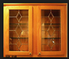 Bevel Diamond Star Kitchen Cabinet Door inserts