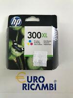 Cartuccia HP 300 XL, 440 Pagine Colore Originale Fattura & Scontrino Asta