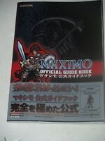 Maximo Official Strategy Guide book ISBN: 4757707452-Capcom-Playstation 2-Japan