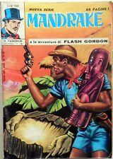 NUOVA SERIE MANDRAKE IL VASCELLO N.28 1972 CON FLASH GORDON