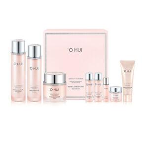 OHUI Miracle Moisture Skin care Trio Set Hydrating Moisturizing K-Beauty