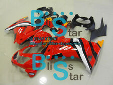 Red Injection Fairings Bodywork Kit Kawasaki Ninja 250R EX250 08-12 48 A2