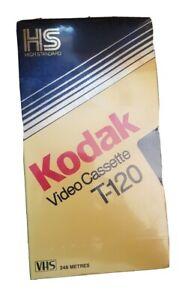 Kodak Video Cassette T-120 VHS Tape