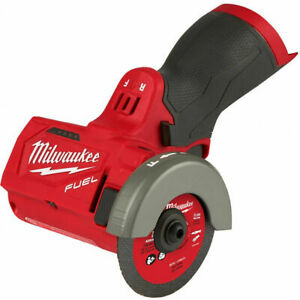 """New in Box Milwaukee 2522-20 M12 Fuel 3"""" Cut Off Tool Grinder Bare Tool Only"""