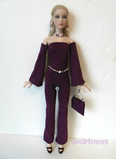 Cami & Antoinette Doll Clothes JUMPSUIT PURSE BELT JEWELRY HM Fashion NO DOLL
