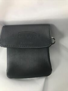 """Time Wise Promo MARY KAY Gray Small Belt Carry Key Pouch Bag 4"""" X 4"""" X 1"""""""