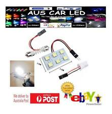 6SMD LED LIGHT PANEL White Car Interior Bulb Lamp T10 BA9S Dome Adapter NEW 5050