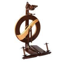 Kromski Walnut Finished Fantasia Spinning Wheel & $40.00 in free bonus items