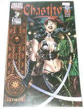 CHASTITY Rocked # 1 A Crossed Blades Cover ( US Chaos Comics, englisch )