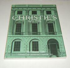 BARBRA STREISAND Rare 2002 Christie's Auction Catalog The House Sale Feb 6, 2002