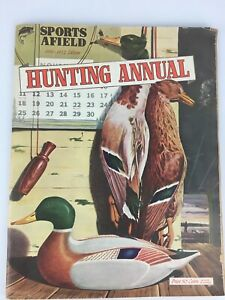 Sports Afield Hunting Annual 1951-1952 Remington Ad Advertising on Back