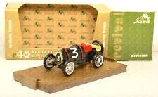 R40 modellino auto BRUMM 1/43 1921 BUGATTI Brescia versione France #3 diecast