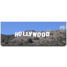 Hollywood Sign panoramic fridge magnet Los Angeles travel souvenir