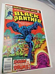 Black Panther #7 *Jack Kirby* Marvel 1977 VF+ Bronze Age MCU
