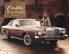 Chrysler Cordoba - Ricardo Montalban - Vintage Ad Flexible Fridge MAGNET