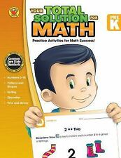 Your Total Solution for Math, Grade PK, , Acceptable Book