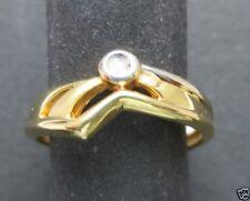 Markenlose 17,5 mm) von (Echtschmuck-Ringe aus Gelbgold Ø