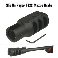 NEW Slip On Ruger 1022 10 22 Muzzle Brake Tanker Style
