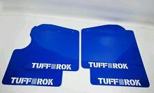 Genuine tuffrok LAND ROVER DEFENDER 90 Mud Flap Veicolo Set 2015 Puma Gloss Blu