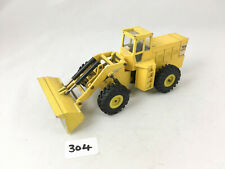 VERY RARE DINKY TOYS # 973 EATON YALE ARTICULATED TRACTOR SHOVEL 1973-78 YELLOW