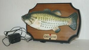 1999 Big Mouth Billy Bass Singing Animated Mounted Fish by Gemmy - NICE & WORKS
