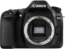 Canon Digital SLR Camera Body [EOS 80D] with 24.2 Megapixel (APS-C) CMOS Sensor