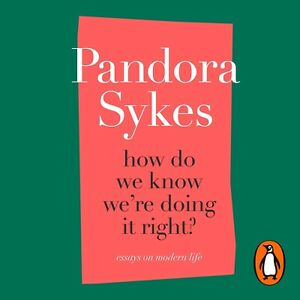 How Do We Know We're Doing It Right - Pandora Sykes - Hardback