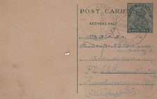 (13723) CLEARANCE India Postal Stationery Postcard Cover 1939