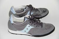 SAUCONY  Bullet size 6 M suede leather women's sneakers blue gray